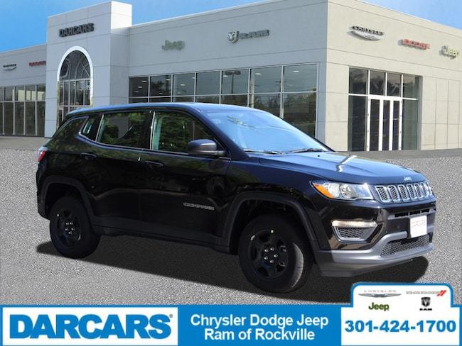 New 2019 Jeep Compass SPORT 4X4 Sport Utility Rockville, MD