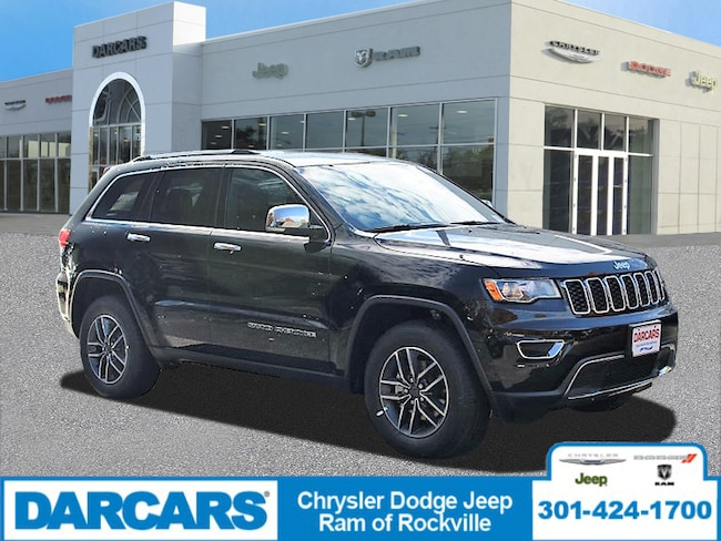 New 2019 Jeep Grand Cherokee LIMITED 4X4 Sport Utility Rockville, MD