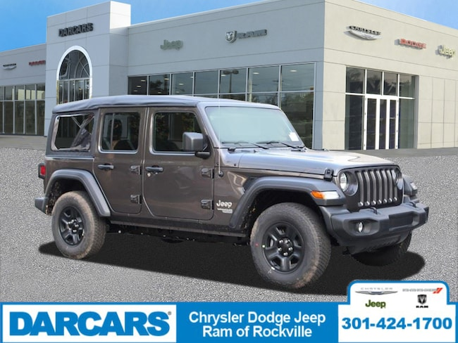 New 2018 Jeep Wrangler UNLIMITED SPORT 4X4 Sport Utility Rockville, MD