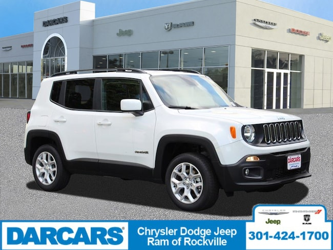 New 2018 Jeep Renegade LATITUDE 4X4 Sport Utility Rockville, MD