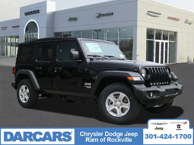 New 2018 Jeep Wrangler UNLIMITED SPORT S 4X4 Sport Utility Rockville, MD