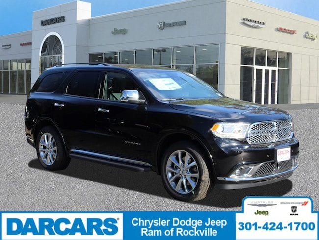New 2019 Dodge Durango CITADEL AWD Sport Utility Rockville, MD