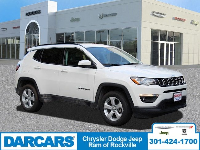 New 2019 Jeep Compass LATITUDE 4X4 Sport Utility Rockville, MD