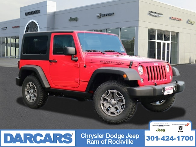 Jeeps For Sale In Md >> New 2018 Jeep Wrangler JK RUBICON 4X4 For Sale in Rockville, MD | VIN# 1C4BJWCG6JL857991