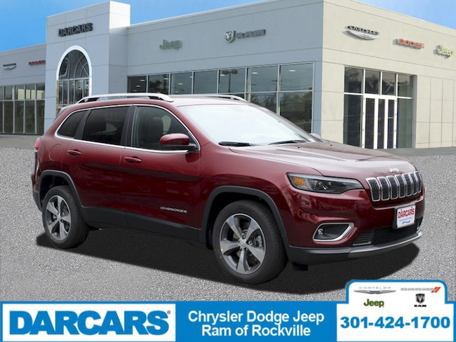 New 2019 Jeep Cherokee LIMITED FWD Sport Utility Rockville, MD
