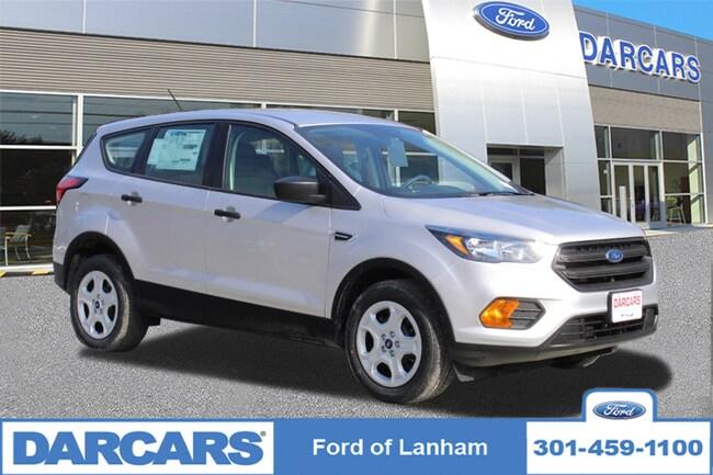 New 2019 Ford Escape S FWD in Lanham, MD