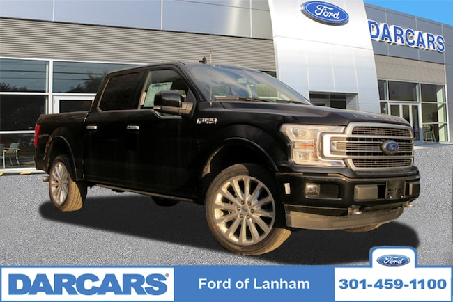 New 2018 Ford F-150 Limited 4WD Super Crew Pickup Truck in Lanham, MD