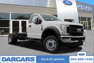 New 2019 Ford F-550 Chassis XL 4WD Regular Cab Pickup Truck in Lanham MD