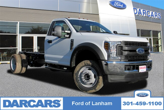 New 2019 Ford F-450 Chassis XL Pickup Truck in Lanham, MD