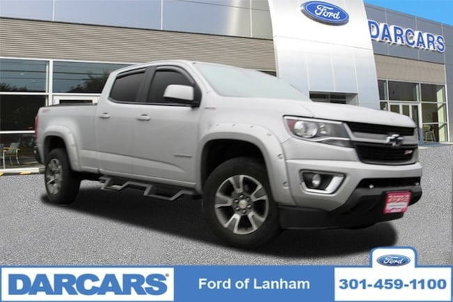 Used 2017 Chevrolet Colorado For Sale Lanham Md Stock 287550a