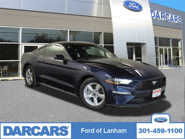 New 2018 Ford Mustang EcoBoost in Lanham, MD