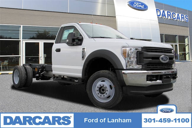 New 2019 Ford F-450 Chassis XL 4WD Regular Cab Pickup Truck in Lanham, MD