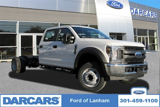 New 2019 Ford F-550 Chassis XL 2WD Crew Cab Pickup Truck in Lanham MD