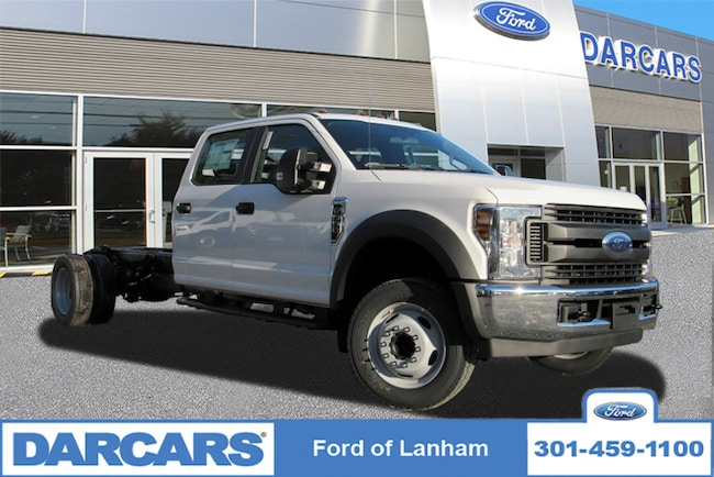 New 2019 Ford F-550 Chassis XL 2WD Crew Cab Pickup Truck in Lanham, MD