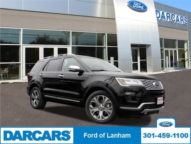 New 2018 Ford Explorer Platinum in Lanham, MD