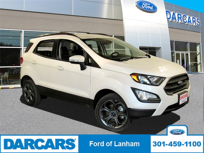 New 2018 Ford EcoSport SES 4WD in Lanham, MD