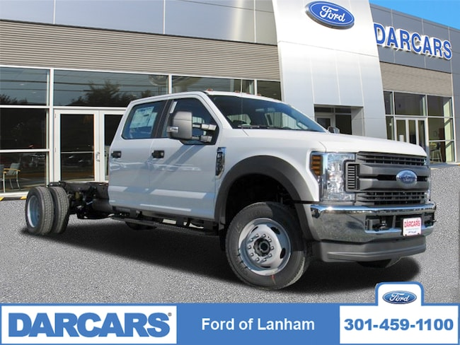 New 2019 Ford F-450 Chassis XL 4WD Crew Cab Pickup Truck in Lanham, MD