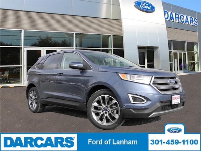 New 2018 Ford Edge Titanium AWD in Lanham, MD