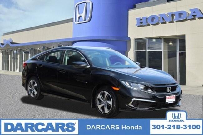 New 2019 Honda Civic LX Sedan in Bowie, MD