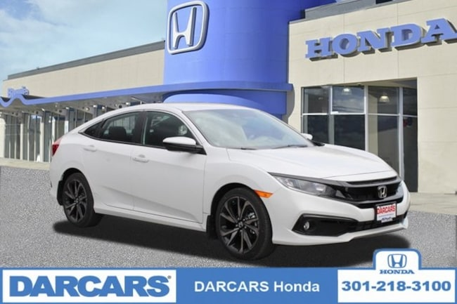 New 2019 Honda Civic Sport Sedan in Bowie, MD