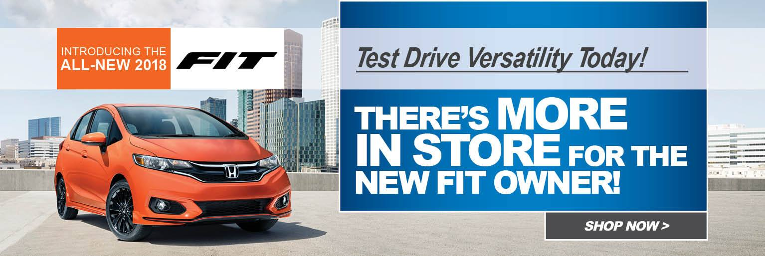 The New 2018 Honda Fit Offers Smart Features And A Sporty Style