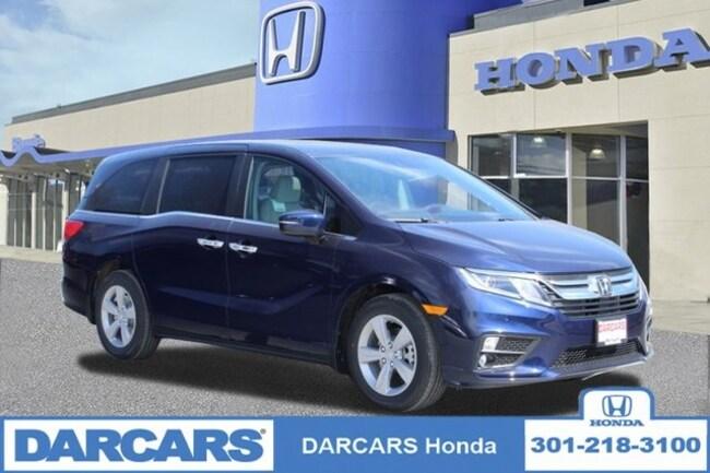 New 2019 Honda Odyssey EX-L w/Navigation & RES Van in Bowie, MD
