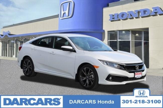 New 2019 Honda Civic Sport Sedan in Bowie, MD