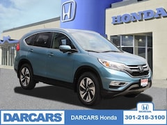 Used 2016 Honda CR-V Touring AWD SUV in Bowie MD