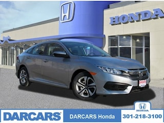 New 2018 Honda Civic LX Sedan in Bowie MD