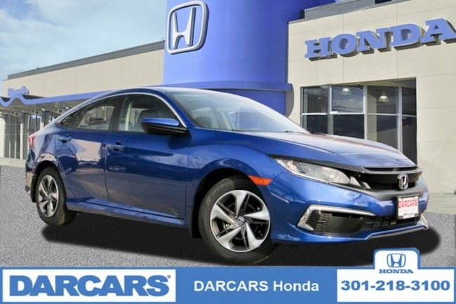 New 2019 Honda Civic LX Sedan in Bowie, MD