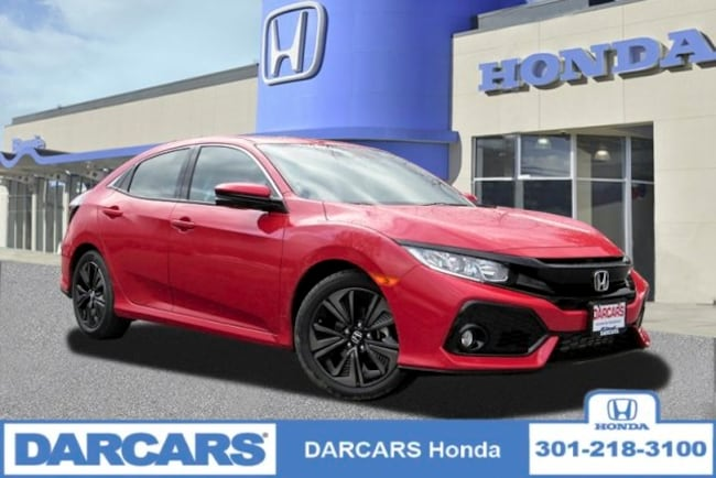 New 2019 Honda Civic EX Hatchback in Bowie, MD