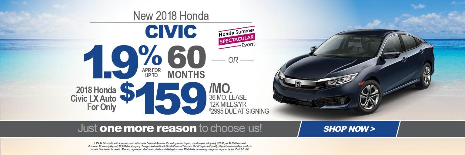 New Used Honda Dealer