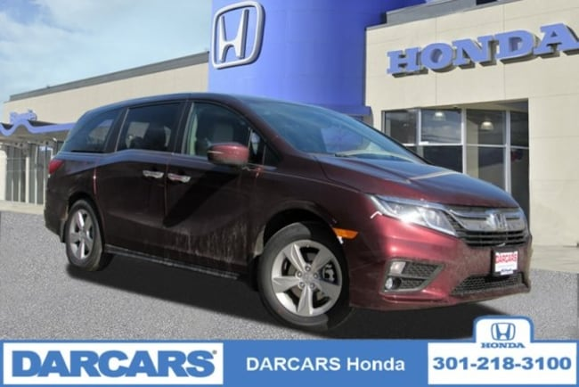 New 2019 Honda Odyssey EX-L w/Navigation & RES Van in Bowie, MD