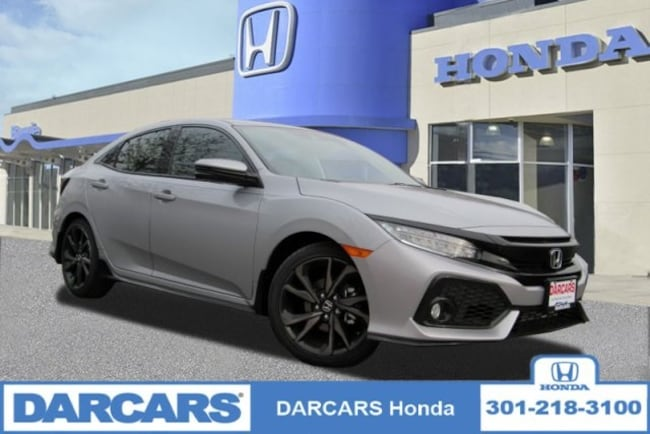 New 2019 Honda Civic Sport Touring Hatchback in Bowie, MD