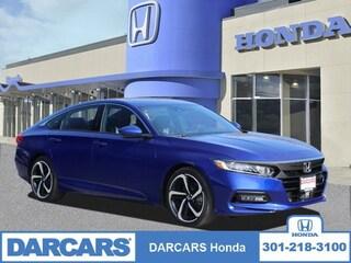 New 2019 Honda Accord Sport Sedan in Bowie MD