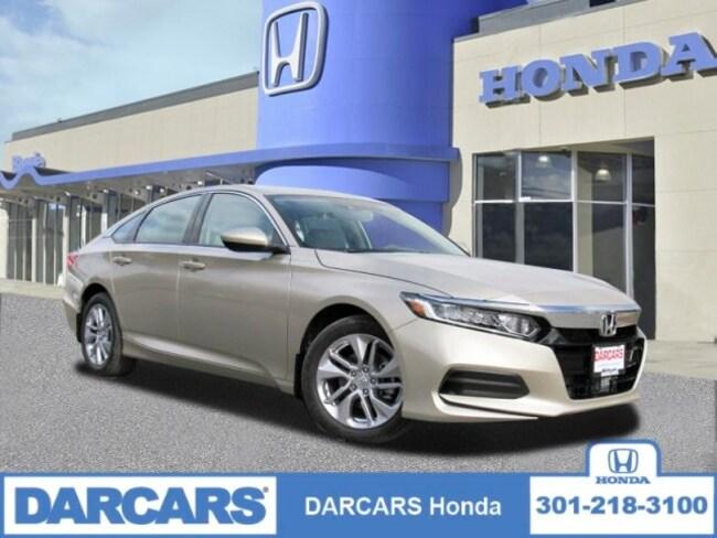 New 2019 Honda Accord LX Sedan in Bowie, MD