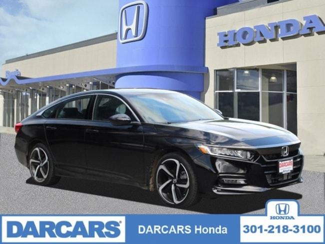 New 2019 Honda Accord Sport 2.0T Sedan in Bowie, MD