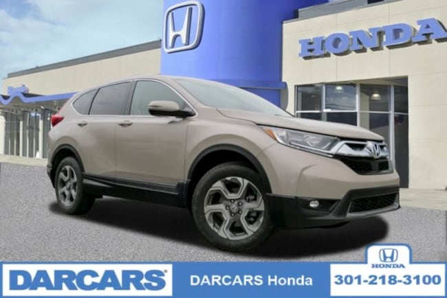New 2019 Honda CR-V EX-L AWD SUV in Bowie, MD