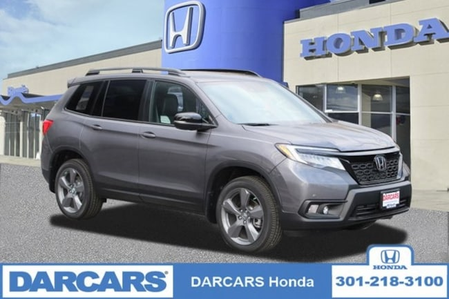 New 2019 Honda Passport Touring AWD SUV in Bowie, MD