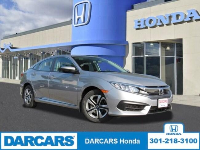 New 2018 Honda Civic LX Sedan in Bowie, MD