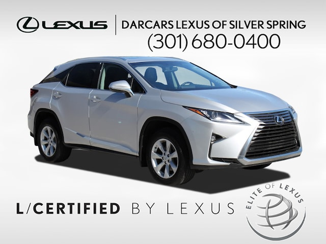 Certified Used 2016 LEXUS RX 350 For Sale in Rockville MD | Stock: P1453