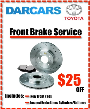 Darcars Silver Spring >> Toyota Service Specials and Coupons | DARCARS Toyota of ...