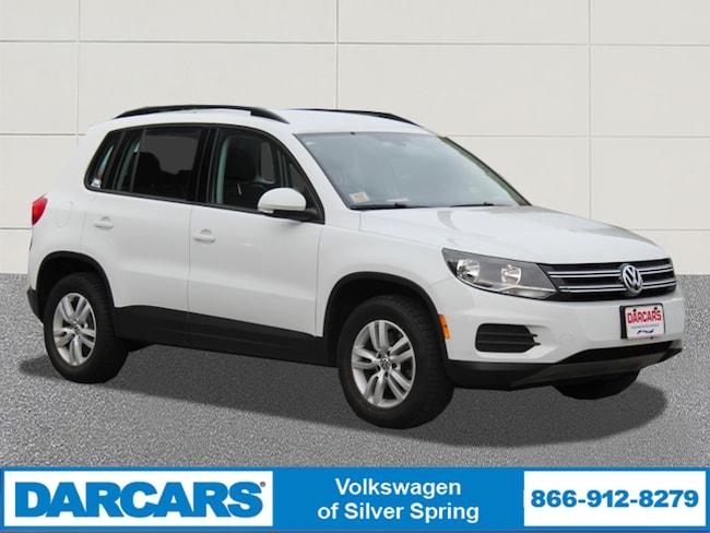 2016 Volkswagen Suv >> Used 2016 Volkswagen Tiguan For Sale In Silver Spring Md Stock