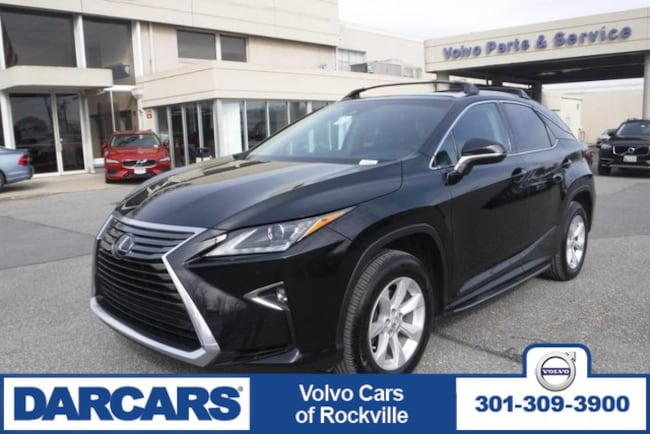 Used 2017 LEXUS RX350 AWD SUV Rockville