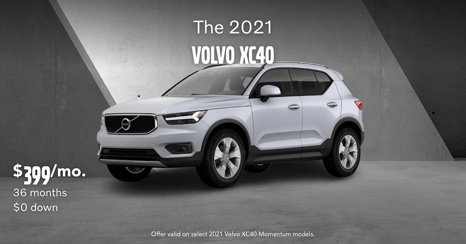 New 2021 Volvo XC40 T5 Momentum Lease Special