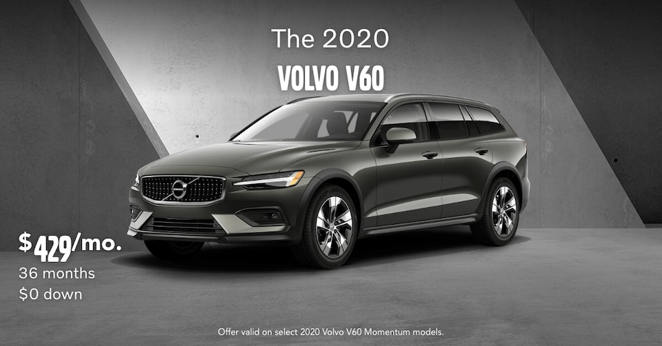 New 2020 Volvo V60 T5 Momentum Lease Special