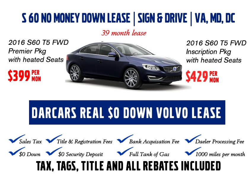darcars volvo rockville zero down lease