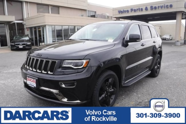 Used 2016 Jeep Grand Cherokee High Altitude, 4WD SUV Rockville
