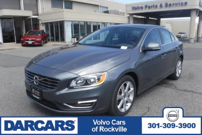 Used 2016 Volvo S60 T5 Drive-E Premier Sedan Rockville