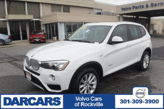 Used 2016 BMW X3 xDrive28i ,AWD SUV Rockville